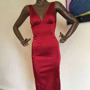 BEBE Size S Red Dress